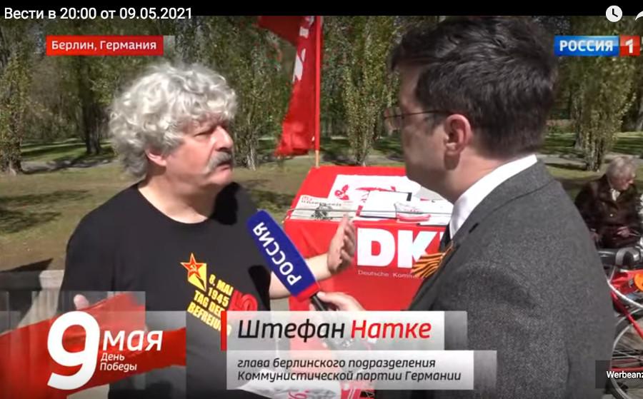 Stefan Natke im Gespräch mit Rossija 1